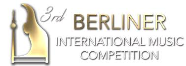 Golden medal at the 3rd Berliner International Music Competition!